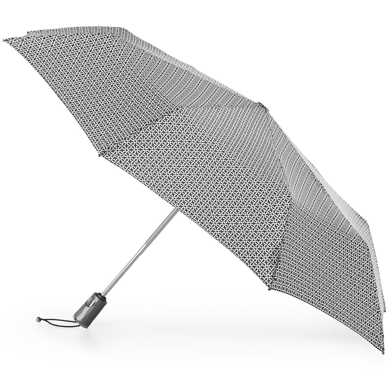 a1019e8df4e0 totes Titan Automatic Open Close Windproof & Water-Resistant Foldable  Umbrella, Nordic Status