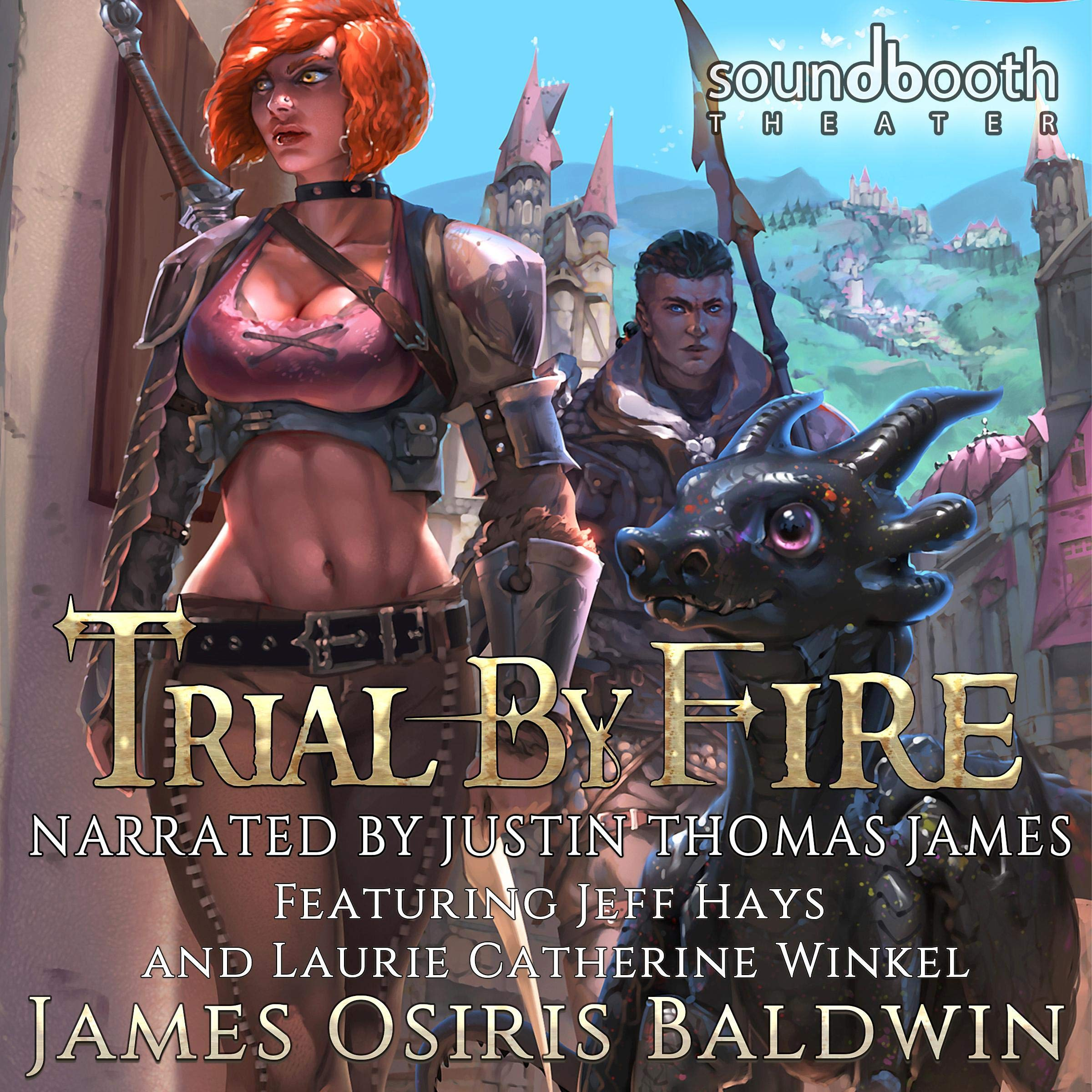 Trial by Fire: A LitRPG Dragonrider