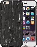 legna Custodia iPhone 6 / iPhone 6s Cover con Schermo protettivo, Black ice 4.7 pollici Caso ultra sottile 1 mm da PITAKA