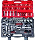 KS TOOLS 922.0711 Coffret de douilles et accessoires ULTIMATE 1/4'' - 1/2'', 111 pièces