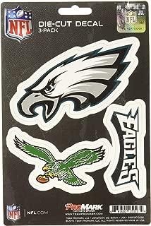product image for NFL Philadelphia Eagles Team Decal, 3-Pack