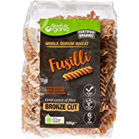 Absolute Organic Wholewheat Fusilli, 500g