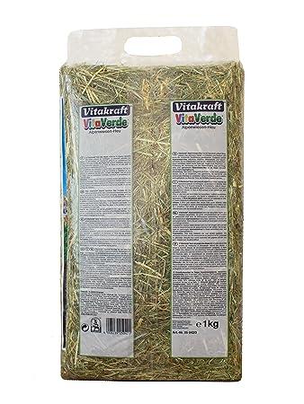 Vitakraft - Heno Vitaverde Aromatico Natural 1Kg: Amazon.es: Productos para mascotas