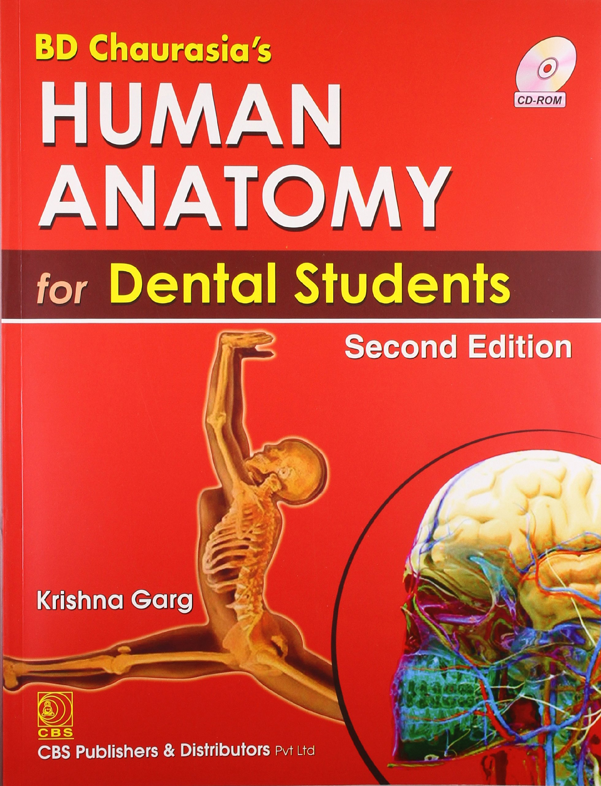 Bd Chaurasias Human Anatomy For Dental Students With Cd Chaurasia