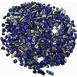 Homankit 220g Lapis Lazuli Tumblestones Healing Small Crystal Tumble Gemstone Bundle Bags by Homankit