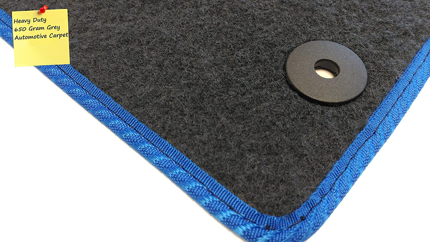 Grey with Grey Trim Connected Essentials CEM650 Car Mat Set for Forester Premium 2010
