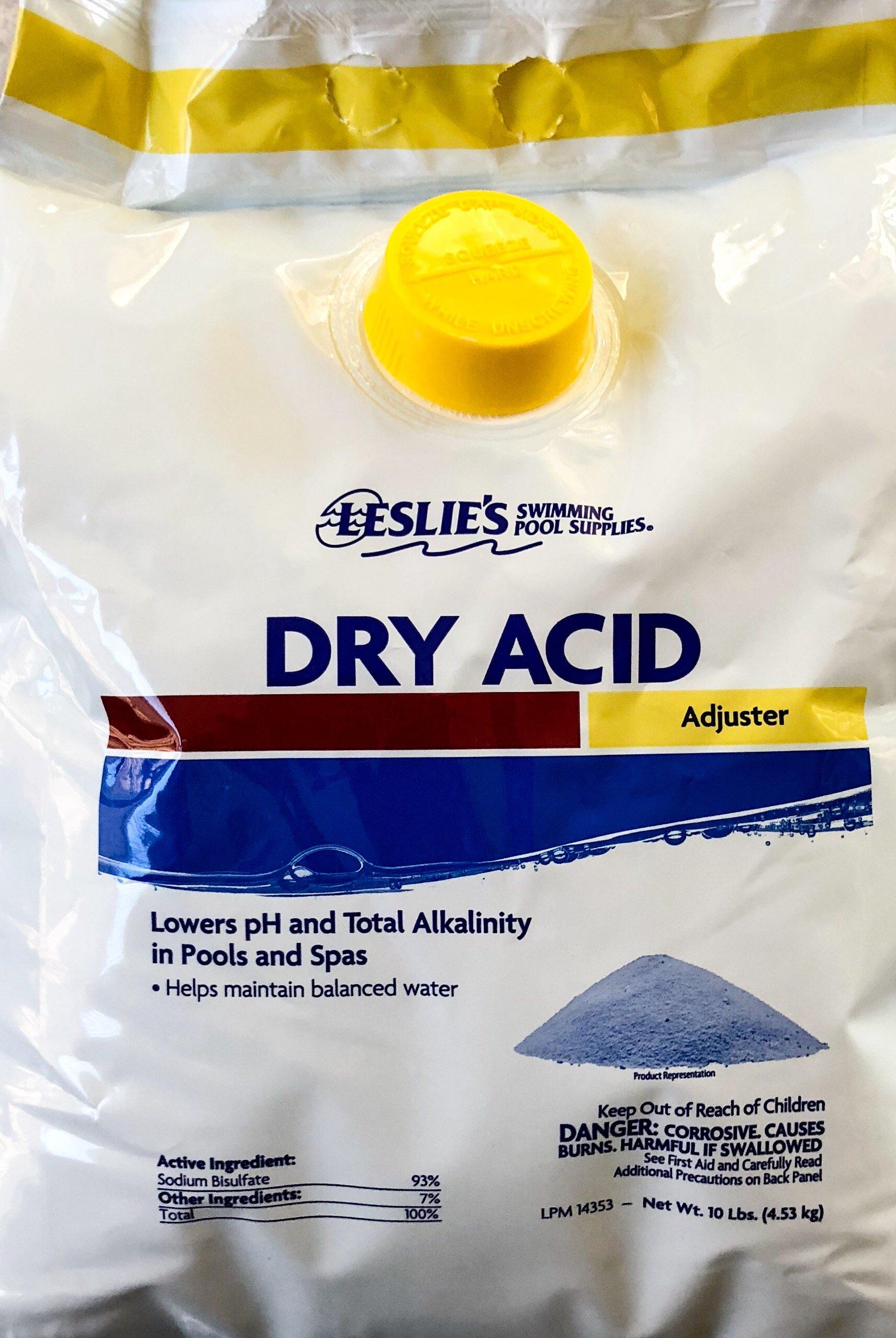 Leslie's Dry Acid Adjuster [10 Lbs Bag] by Leslie's