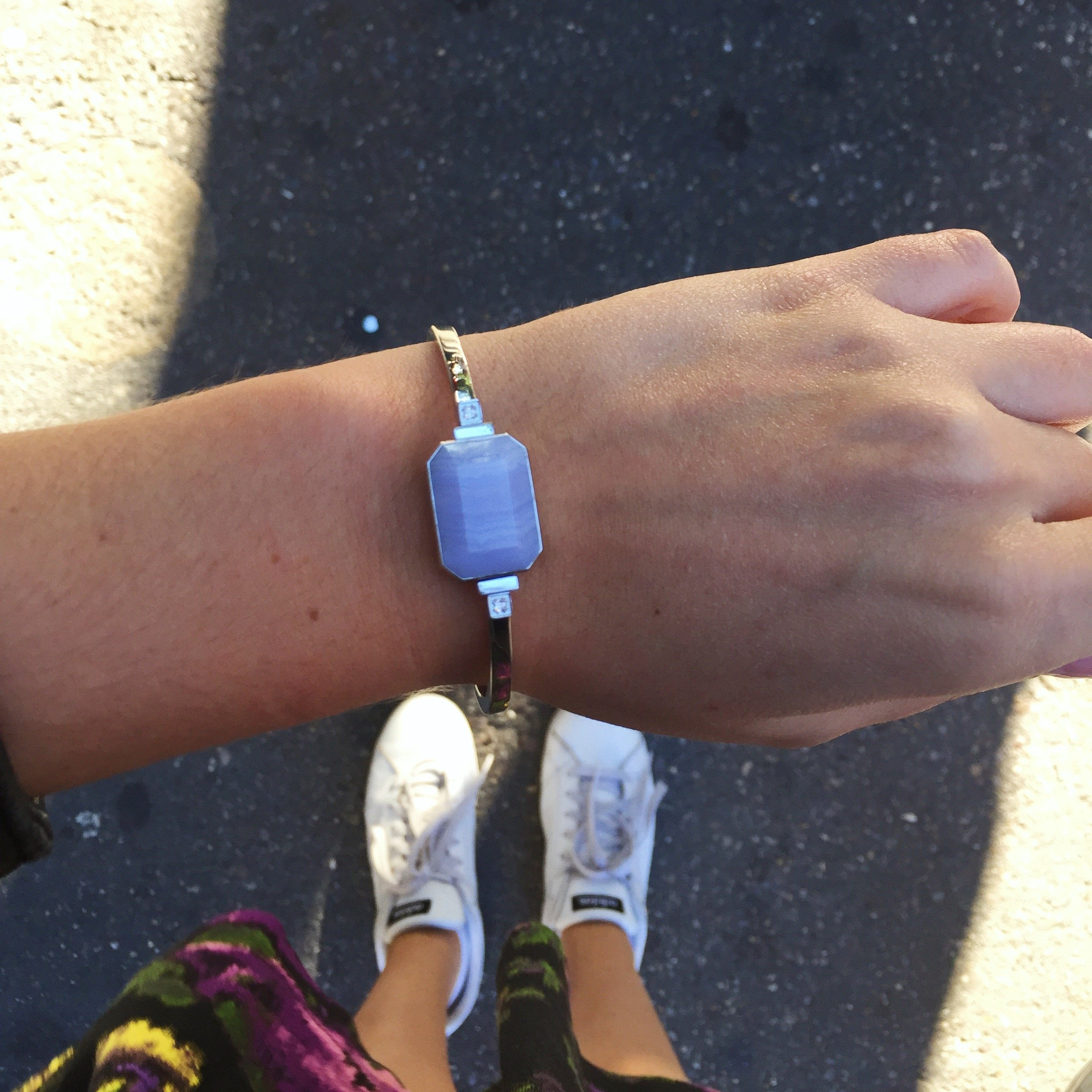Ringly Luxe - Activity Tracker + Mobile Alerts + Meditation Smart Bracelet by RINGLY (Image #7)
