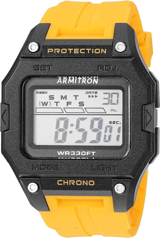 Armitron Sport Men s Digital Chronograph Resin Strap Watch, 40 8460