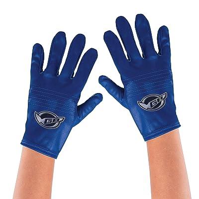 Disguise Blue Ranger Beast Morpher Kids' Costume Gloves: Toys & Games