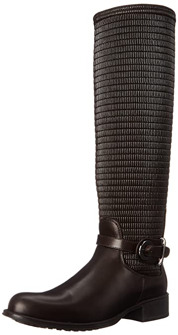 Aquatalia Women's ully Riding Boot, Espresso, ...