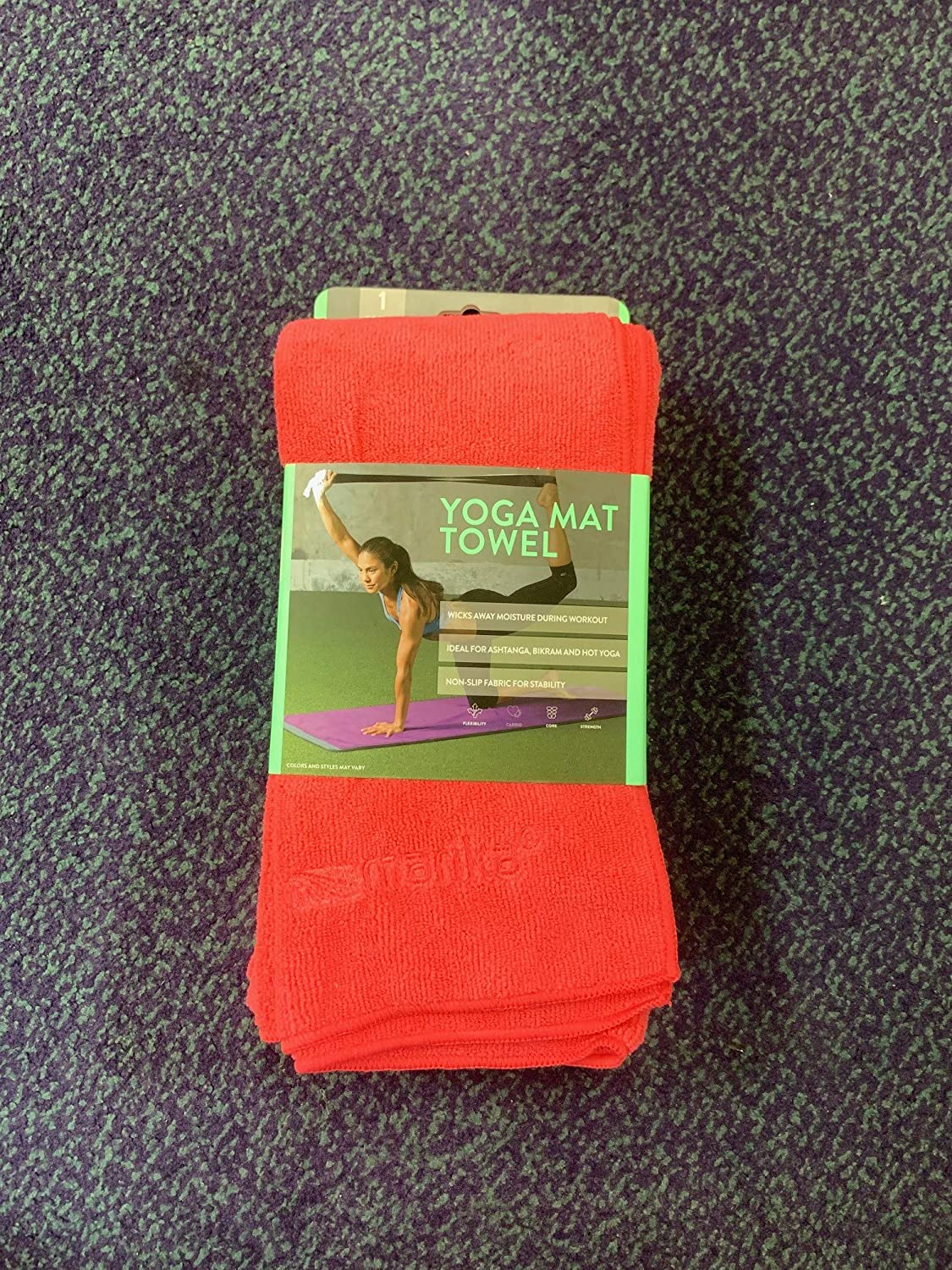 Amazon.com : Marika Yoga Mat Towel Size 24×72