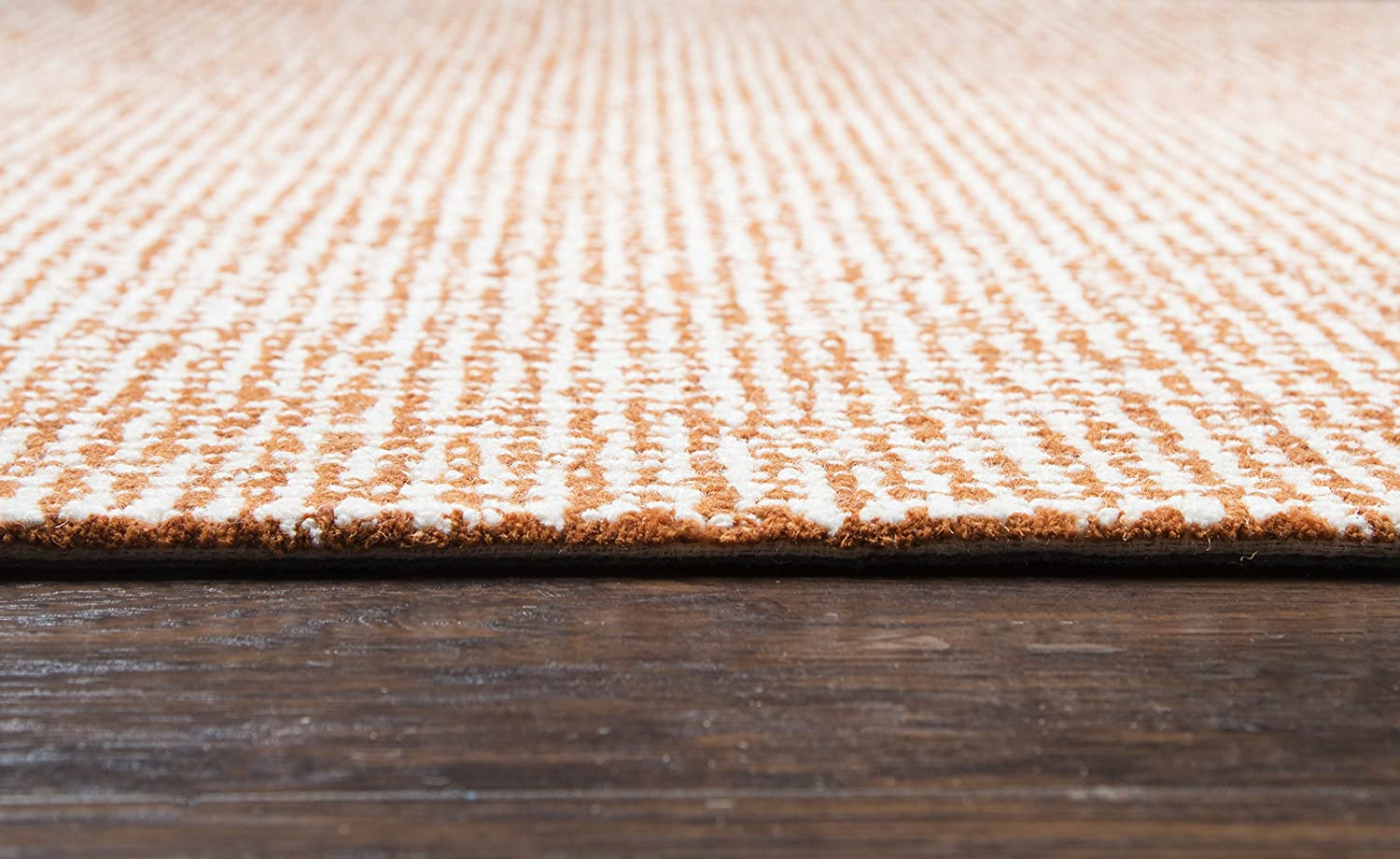 Orange Rizzy Home BR652A Brindleton Hand-Tufted Area Rug 26 x 8