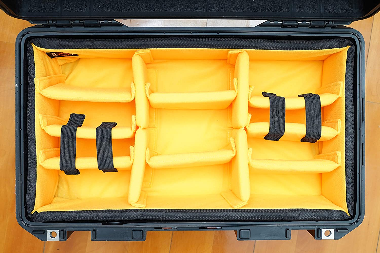 /… N0 case Yellow A-Mode Padded Divider Set to fit Pelican1535 Air