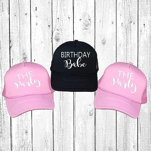 Amazon Birthday Babe The Party Trucker Hats