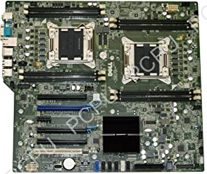 GN6JF Dell Precision T5600 Server Dual Motherboard s2011