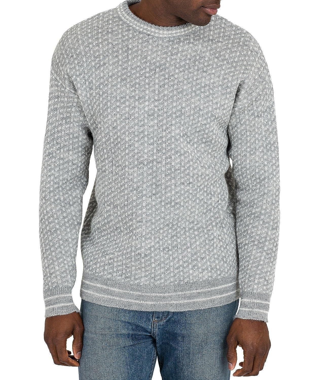Woolovers Damen Pullover Gr. L, Flannel Grey Cream: Amazon