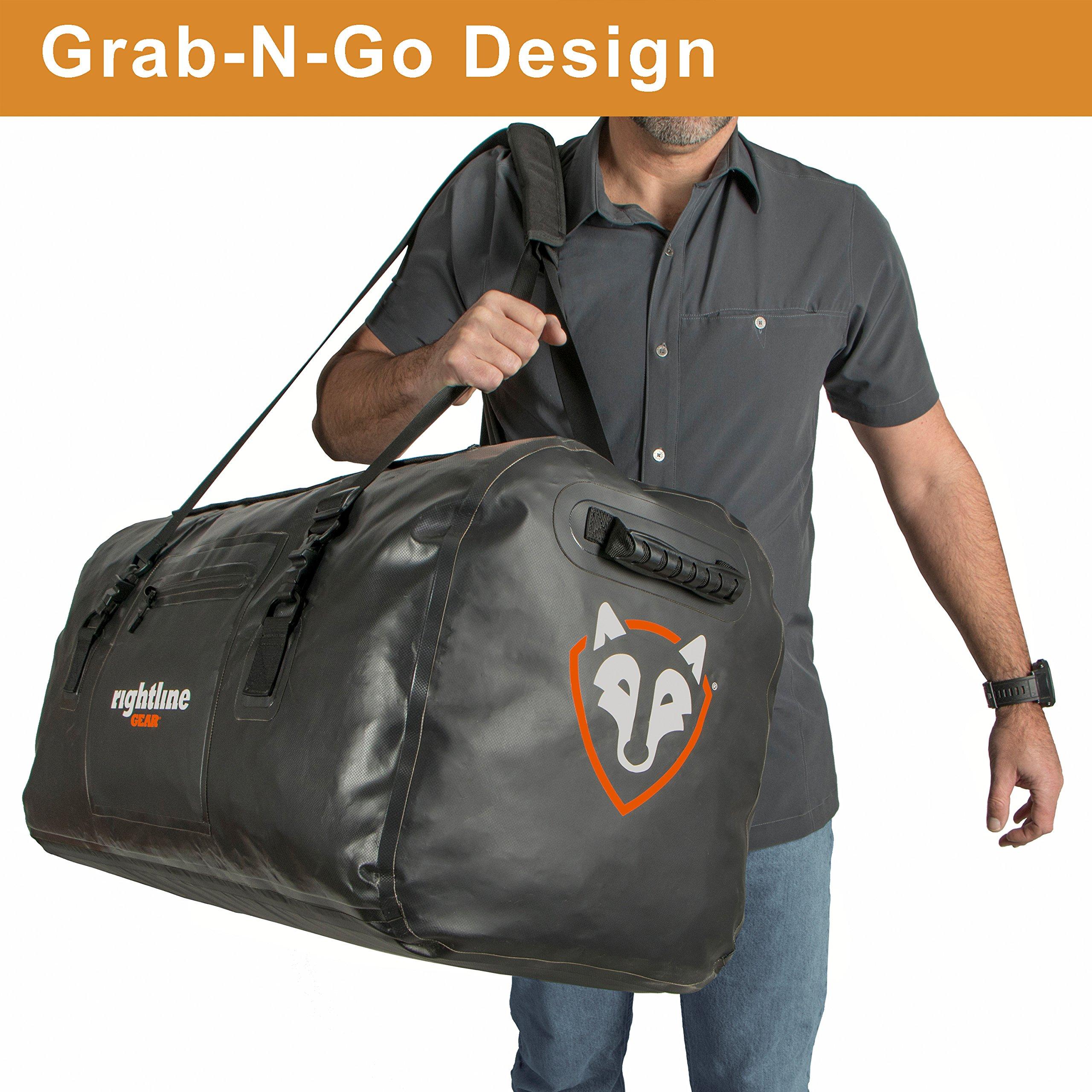Rightline Gear 100J87-B 4x4 Duffle Bag (120L) by Rightline Gear (Image #9)