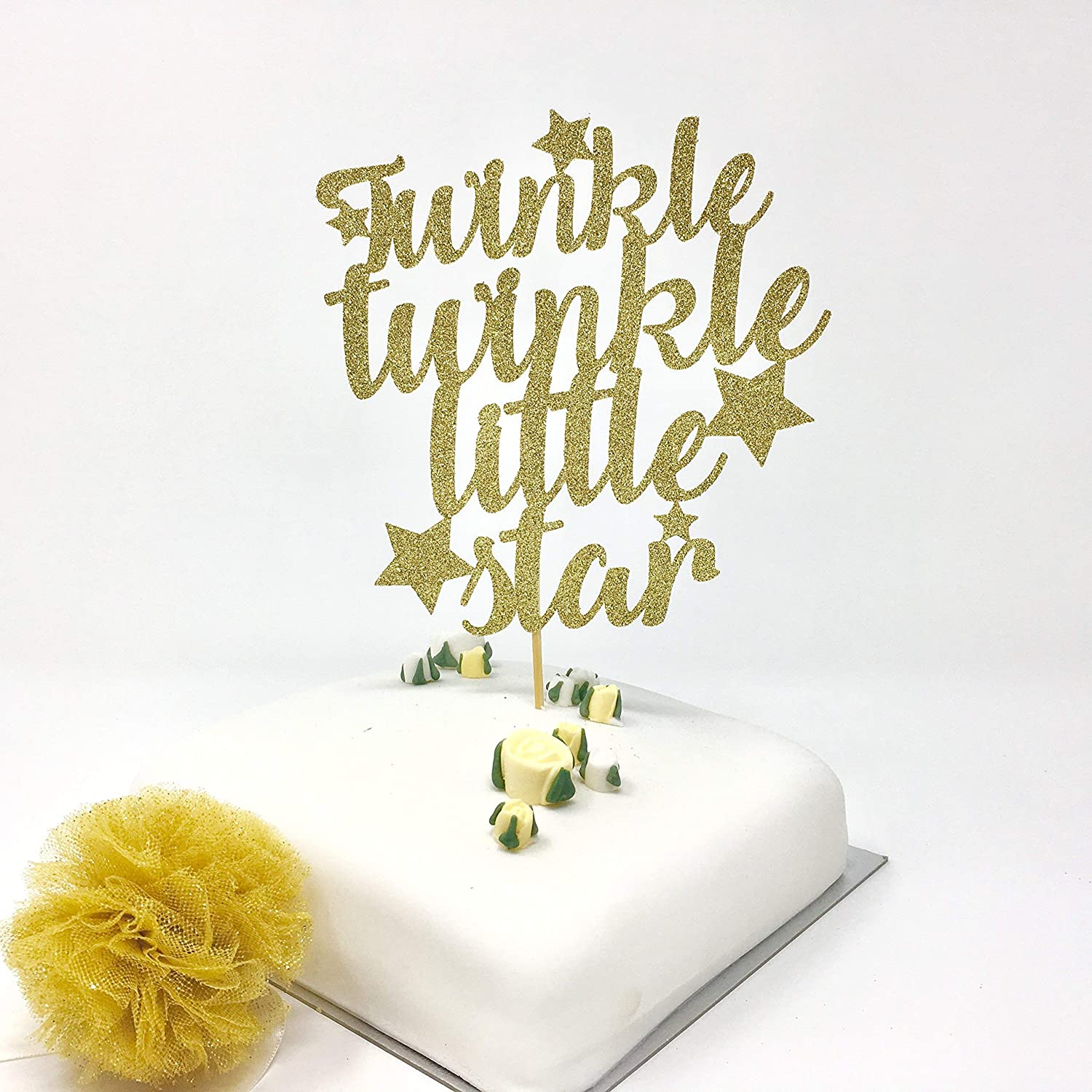 Astounding Twinkle Twinkle Little Star Cake Topper Baby Shower Cake Idea Personalised Birthday Cards Paralily Jamesorg