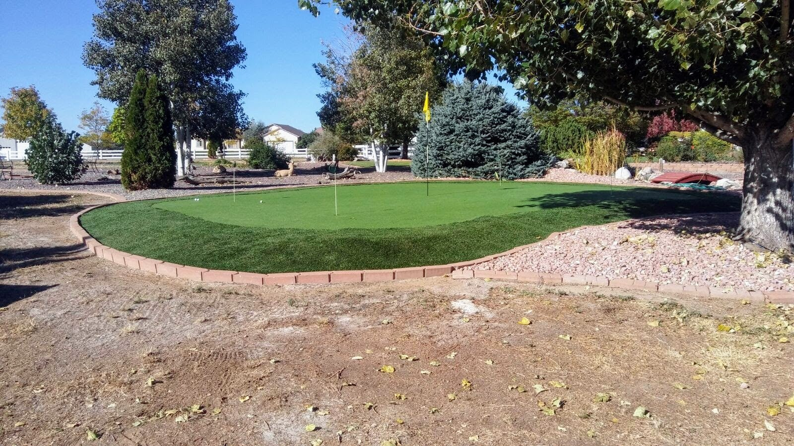 All Season Prime Synthetic Grass - Artificial Turf - Drainage Holes, 2'' blades Great for Sunny Climates (10' x 15') by Turf Pros Solution (Image #7)