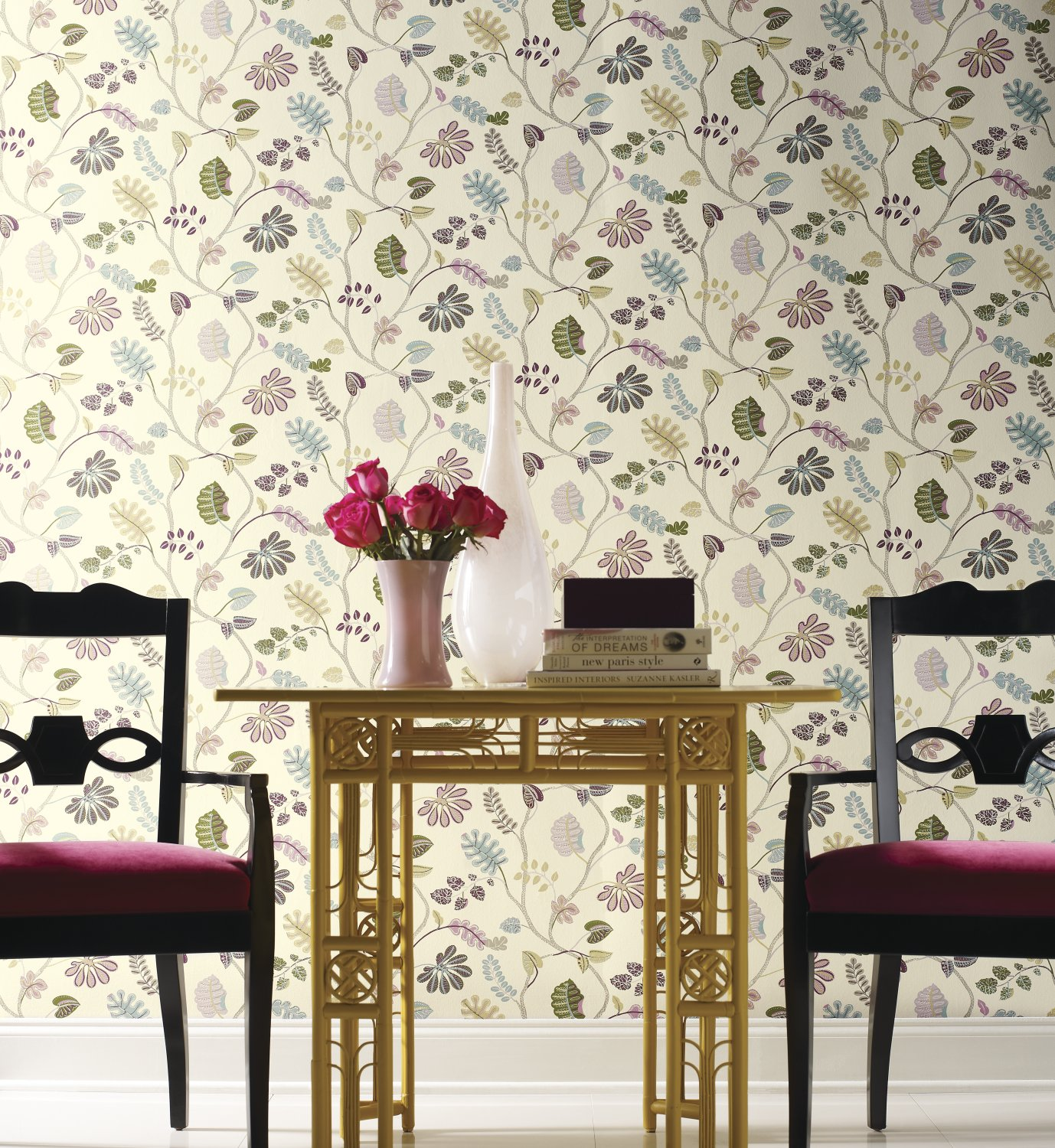 Amazon York Wallcoverings WP2400 Waverly Small Prints a New
