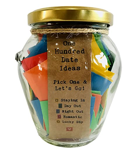 little jar of big ideas 100 date ideas pick one let s go