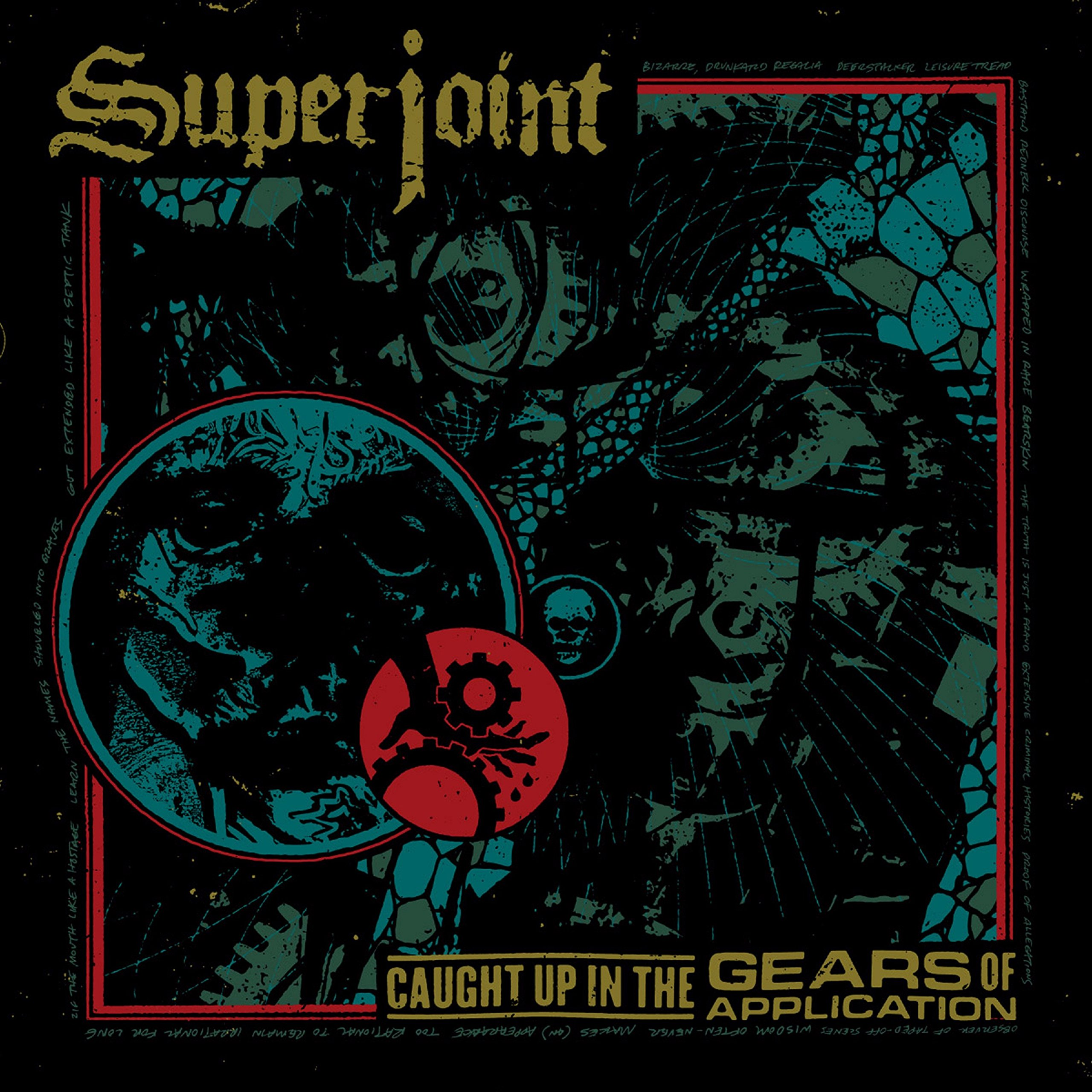 Vinilo : Superjoint - Caught Up In The Gears Of Application (LP Vinyl)