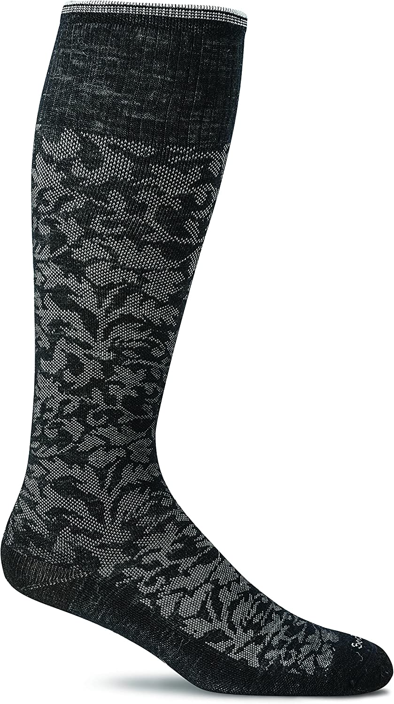 Sockwell Women's Damask Moderate Graduated Compression Socks