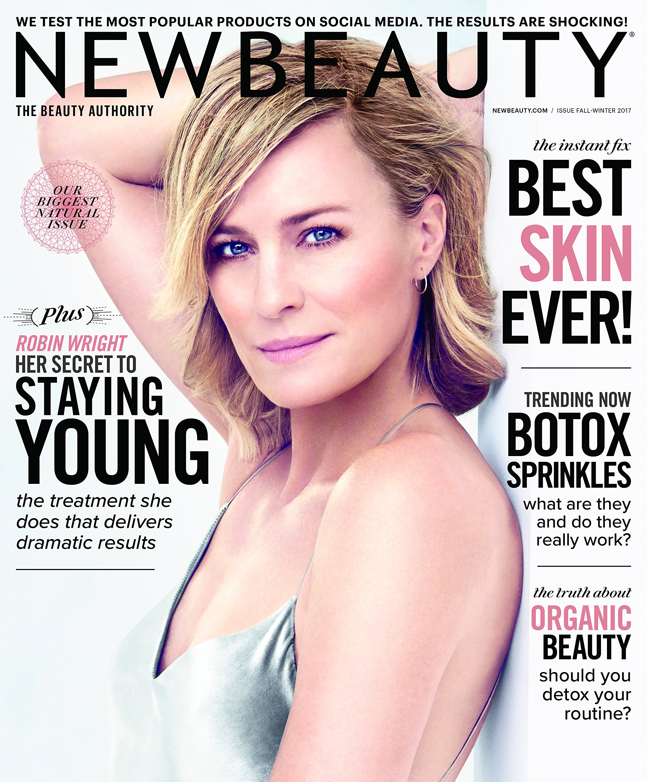 Download New Beauty Magazine (Fall-Winter 2017) Robin Wright Cover pdf epub