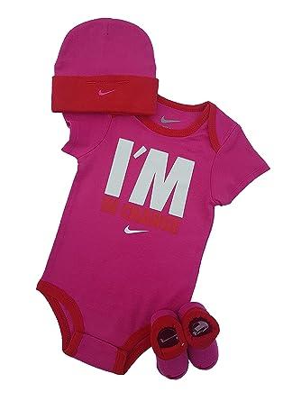 84f276bce433e Nike - Grenouillère - Bébé (fille) 0 à 24 mois - -  Amazon.fr ...