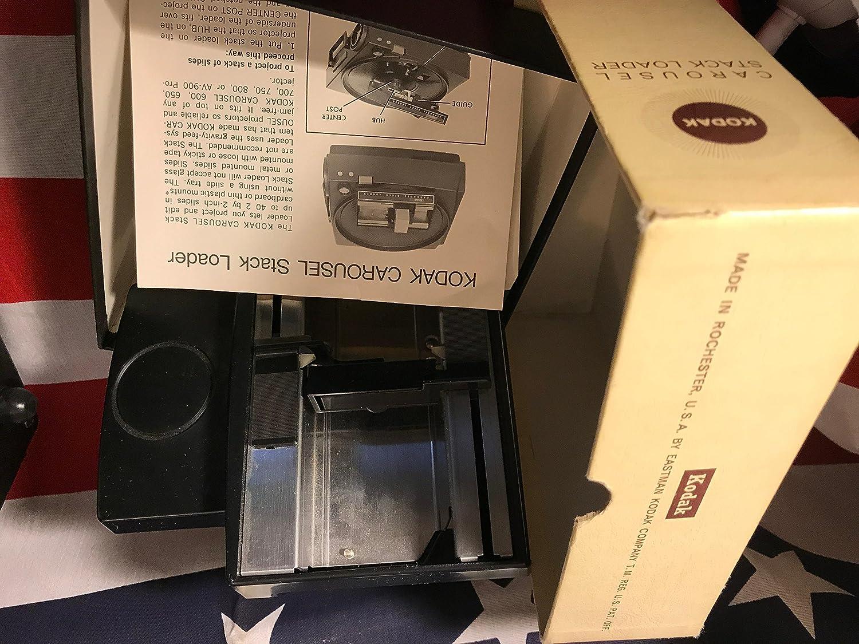 Kodak 600 Carousel Proyector de Diapositivas: Amazon.es: Electrónica