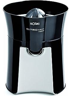 Solac EXPRIMIDOR EX6157 1000W INOX, 100 W, 0.3 litros, Plástico|Acero Inoxidable