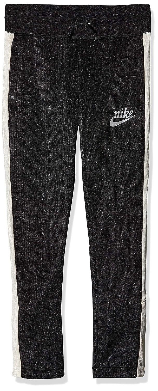 Noir (noir Pale Ivory Reflective argent 010) L Nike G NSW Icon Pant Track FLC Un Un Pantalon Fille