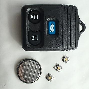 Ford Transit MK6 Connect 3 Botón remoto clave Fob Caso Full DIY Kit de reparación de DF: Amazon.es: Electrónica