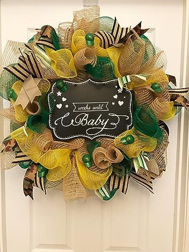 Amazon John Deere Baby Shower Wreath John Deere Wreath Burlap