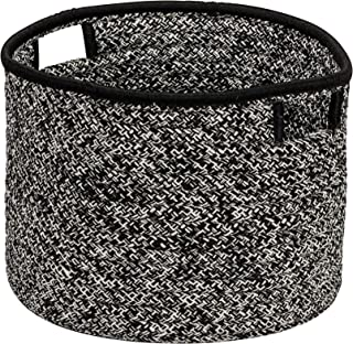 "product image for Colonial Mills Casablanca Basket, 20""x20""x14"", Black"