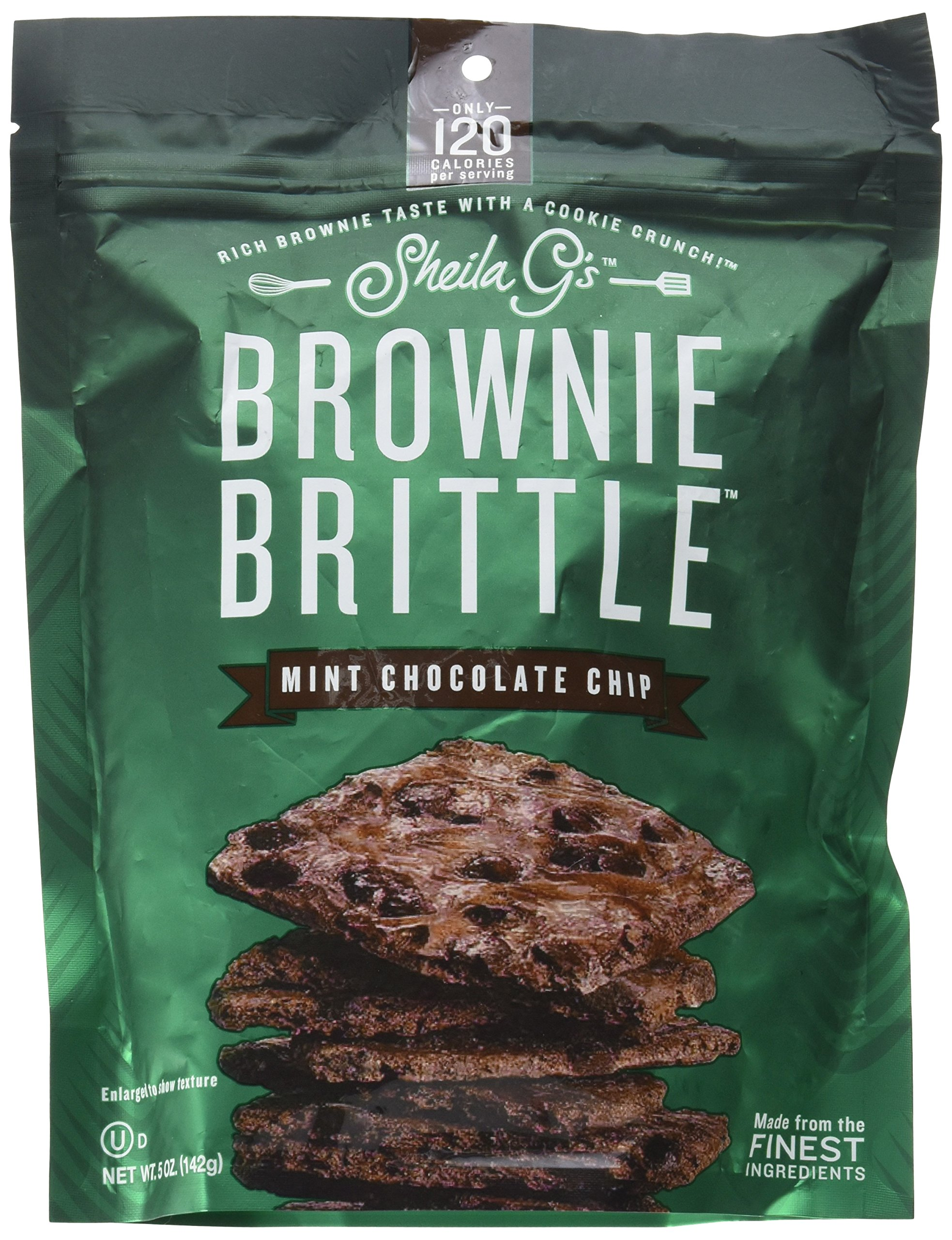 5OZ Mint Choco Brittle by Sheila G's