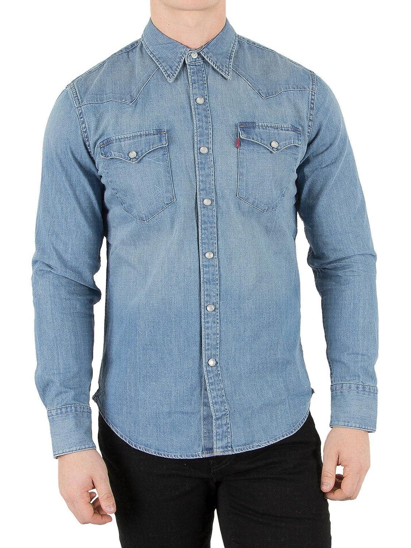 TALLA 3XL. Levi's L/S Barstow Western Shirt, Camisa Casual de Manga Larga Para Hombre