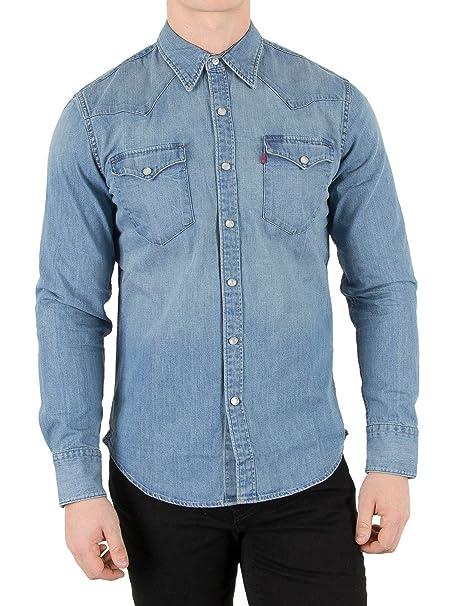 Levis L/S Barstow Western Shirt, Camisa Casual de Manga Larga Para Hombre,