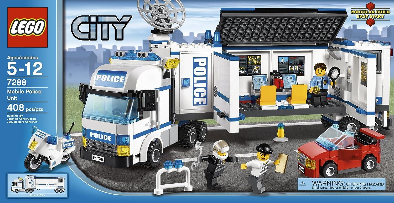 amazoncom lego mobile police unit 7288 toys games