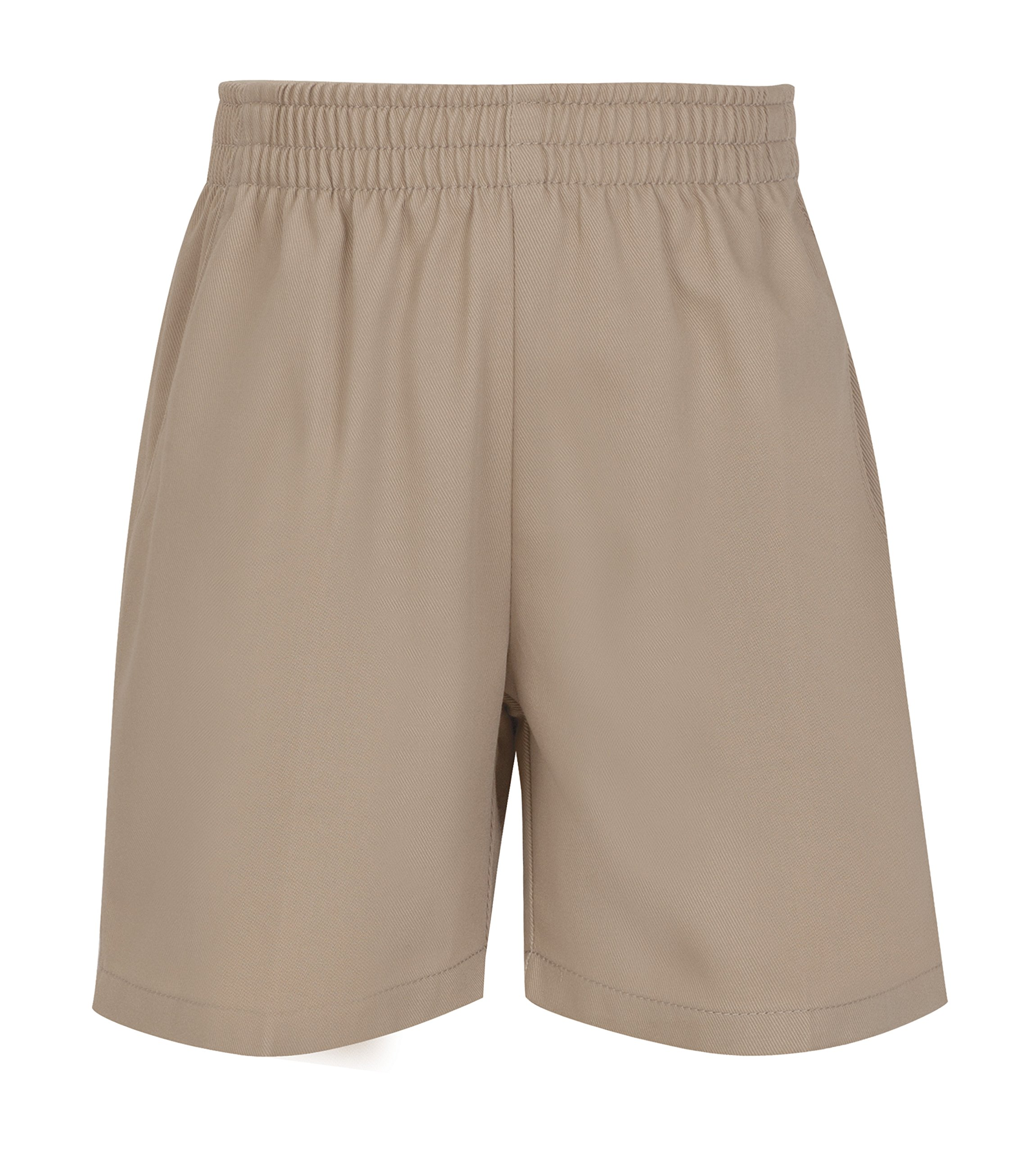 CLASSROOM Little Boys' Uniform Pull On Short, Khaki, 6