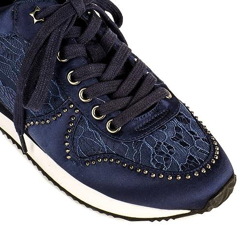 256a735fc72 67 SIXTYSEVEN Sneakers   Deportivas mujer Ash Zapatos Blush Zapatillas de  Cuña Azul Marino Mujer 41