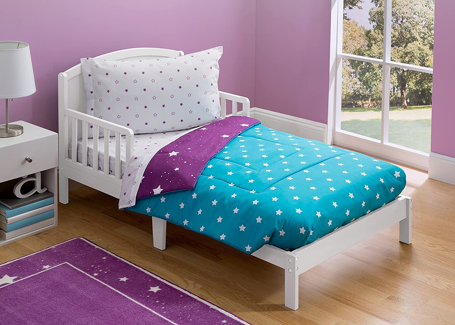 Toddler Bedding Set | Girls 4 Piece Collection