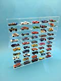 Acrylic Mega Store Hot Wheels/Matchbox Display Case 50 Compartments