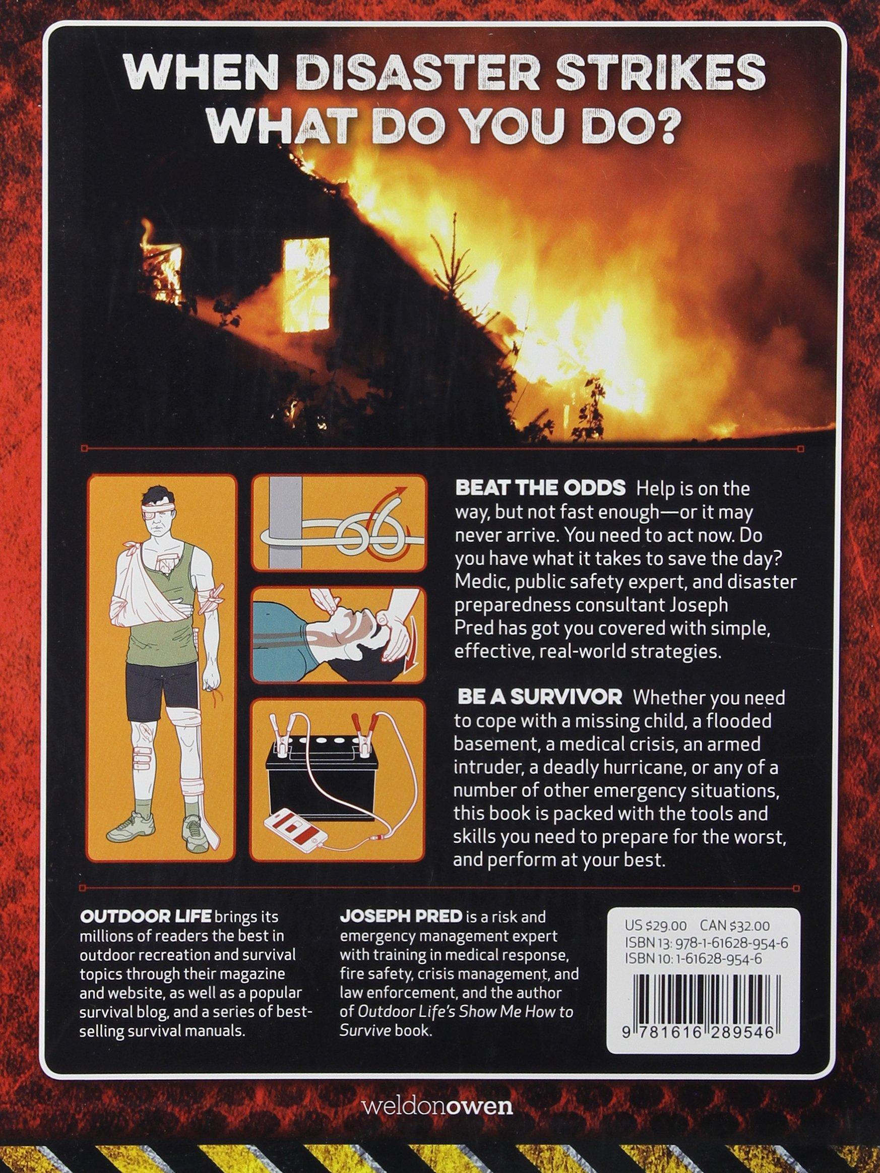 amazon com the emergency survival manual outdoor life