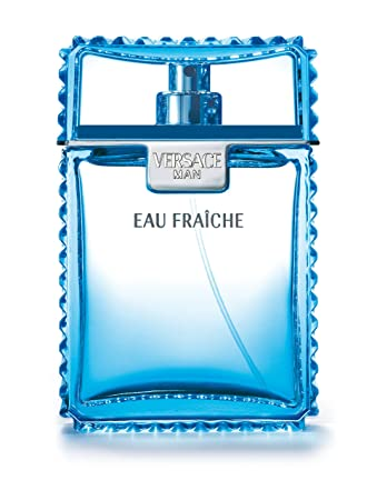 24cc459b9c Amazon.com : Versace Man Eau Fraiche By Gianni Versace For Men Edt Spray  3.4 Fl. Oz : Eau De Toilettes : Beauty