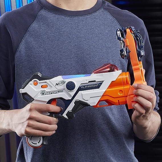 Nerf - Laser Ops Alphapoint (Hasbro E2280EU4): Amazon.es: Juguetes y juegos