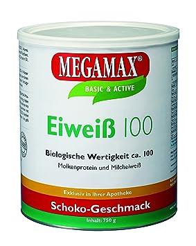 MEGAMAX - Eiweiss - Proteínas de suero de leche y proteínas lácteas - Crecimiento muscular y