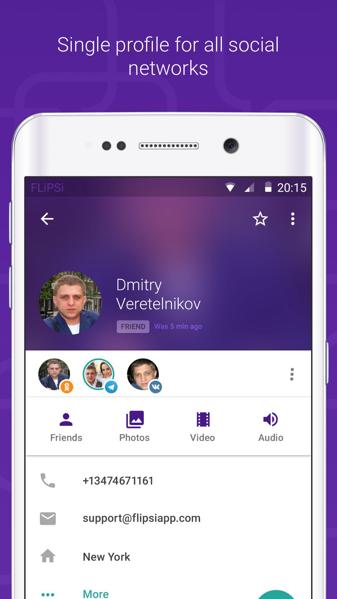 FLiPSi for Yahoo! Messenger & VK
