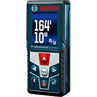 Bosch Bluetooth Enabled Laser Distance Measure with Color Backlit Display